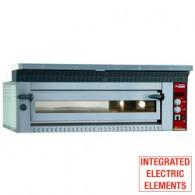 Elektrische pizzaoven, 9 pizza's Ø 350 mm, 1420x1360xh400