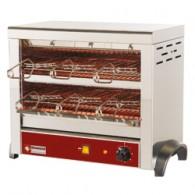 Toaster 6 tangen quartz, 485x255xh370