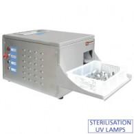 Poliermachine voor bestek, tafel model, 2500-3000 st./u, 560x445xh450