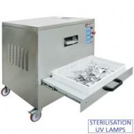 Poliermachine voor bestek, 4000-5000 st./u, 800x860xh840