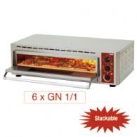Elektrische pizza-oven, kamer (2+3 kW) 660x430xh100