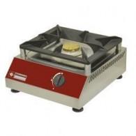 Warmhoudplaat op gas, tafelmodel, 1 brander, 380x400xh200
