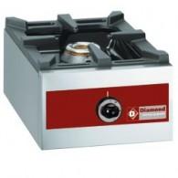 Gasbrander, tafelmodel - 1 brander (5,5 kW),  360x480xh260