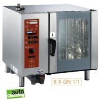 Elektrische oven met boiler, stoom en convectie, 895x845xh830
