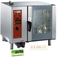 Elektrische oven, directe stoom en convectie, 895x845xh830