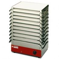 Bordenverwarmer, 10 platen, 400x215xh475