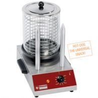 Worsten verwarmer 2 elektrische staafjes, 260x380xh400