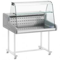 SUPER/10-ZC Gekoelde vitrinetoonbanken - gebogen frontglas