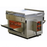 "Band oven L.300 mm (H.110) met quartz ""S-POWER"", 470x720xh385"