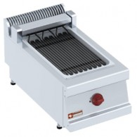 Elektrische stoom-grill, 1/2 module, 400x700xh330