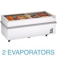 VT150E/N Panoramische diepvriezer 2 compressoren 1 temperatuur