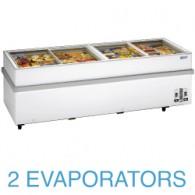 VT250E/N Panoramische diepvriezer 2 compressoren, 2 temperaturen